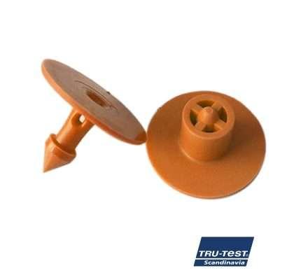 Kernestyringsmaerke-orange-plast-rund