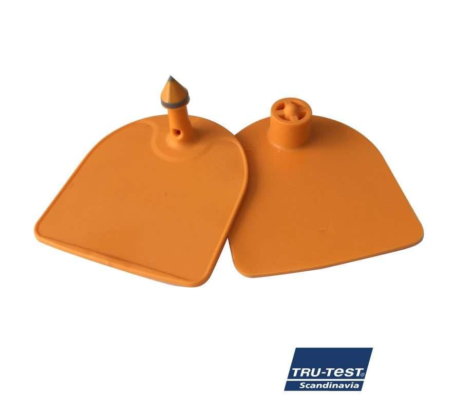 Medium U-mærke m. skarp spids/skærekant (orange)
