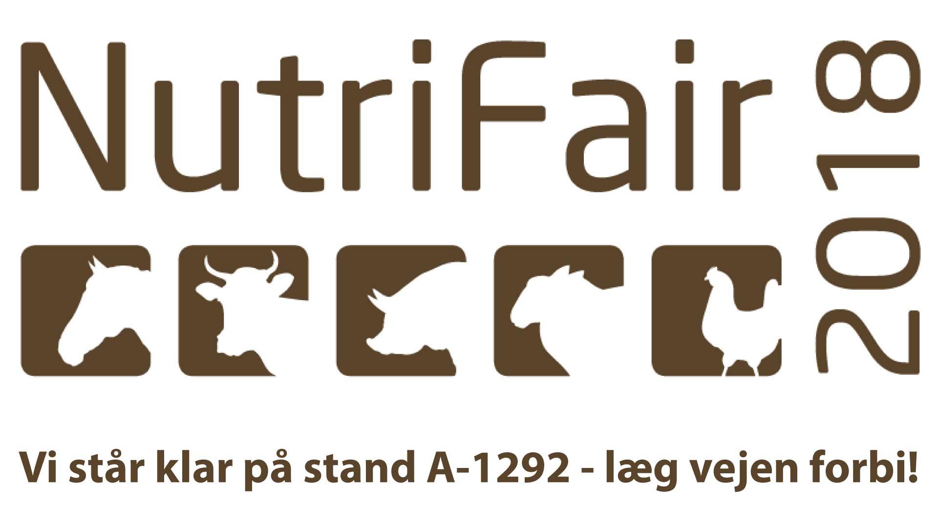 Mød os på Nutrifair 17-18 Januar 2018