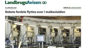 Robotfordele i malkestalden | TRU-TEST Stald Monitor